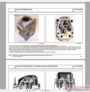 Mercedes Engines Service Manuals