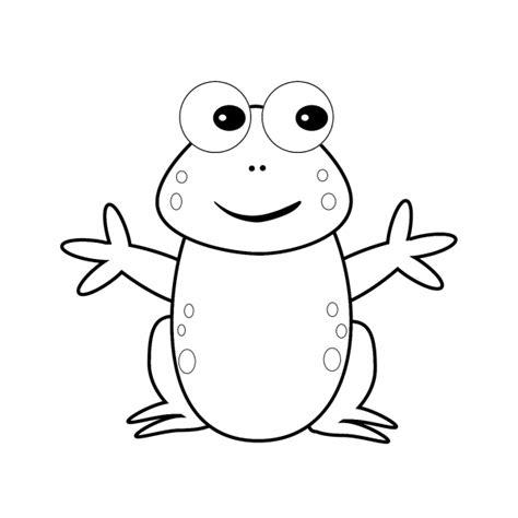 disegni di bambini stilizzati da colorare 37 disegni rane stilizzate e simpatiche da colorare