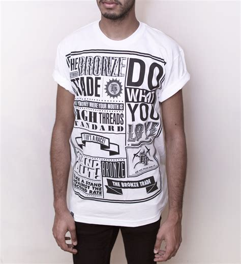 typography t shirt research thomas clayton