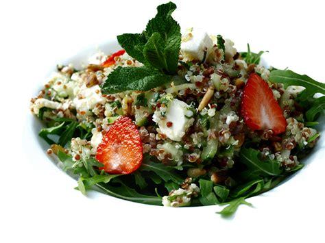 taboule de quinoa  la feta cookismo recettes saines