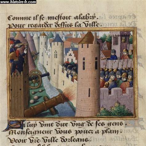 siege d orleans premières difficiles ées de règne 1422 1429