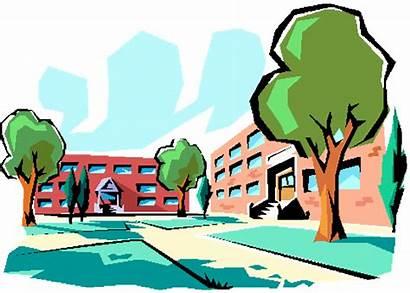 Clip Clipart Building Gym Cartoon College Environment