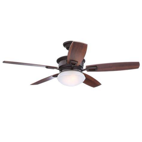 wobbly ceiling fan 2 hton bay springview 52 in rubbed bronze ceiling