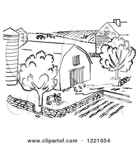 royalty  rf clipart  barns illustrations vector