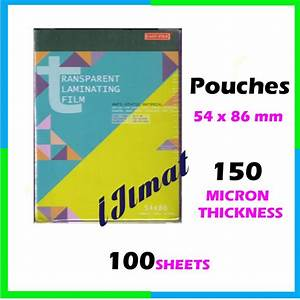 east file laminating film pouch ic sarung laminate 54mm With where can i laminate my document