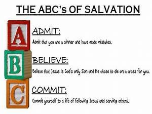 Abc U2019s Of Salvation