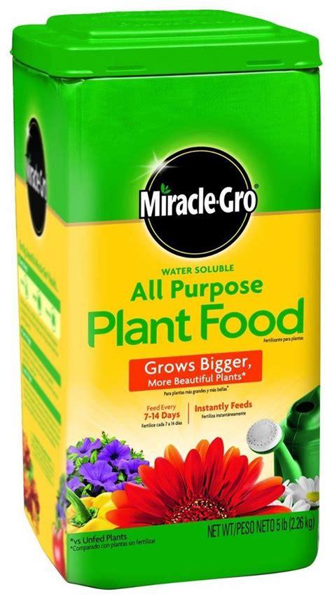 plant food miracle gro fertilizer feed soil garden outdoor