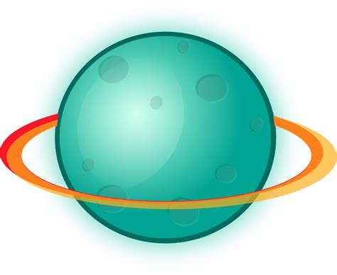 Free To Use Public Domain Planets Clip Art