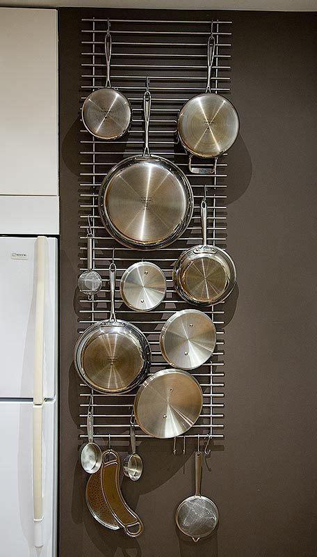 Kitchen Wall Rack Pots Pans by Wall Hanger Grid From L 228 Mplig Trivets Mod Ikea Fans