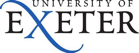 university  exeter logo  vector