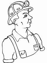 Coloring Labor Miner Coal Sheets Primarygames Printable Pdf sketch template