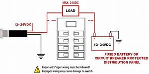 L19y Big Current Anti Vandal Switch