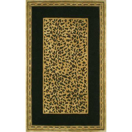 American Home Rug Company by American Home Rug Co Safari Gold Black Cheetah