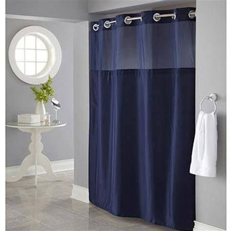Blue Medallion Curtains Walmart by 1000 Ideas About Navy Blue Shower Curtain On