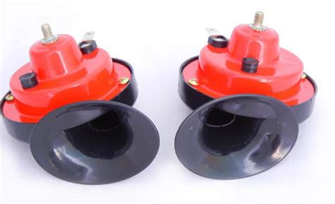 12v Mini Universal Snail Horn For Car Motorcycle Double