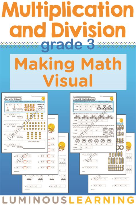 Visual Math Multiplication Worksheets  How To Teach Multiplication Worksheetshow
