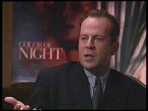 Bruce Willis interview with Jimmy Carter 1994 - YouTube