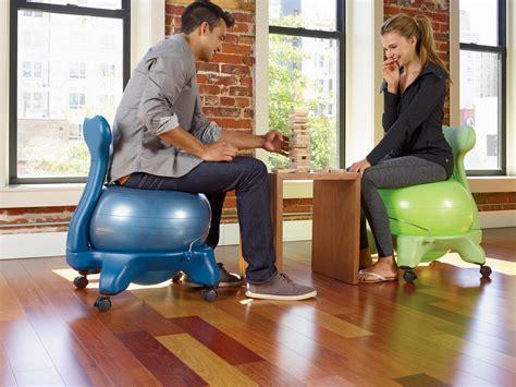 Amazon.com : Gaiam Balance Ball Chair (Black) : Exercise