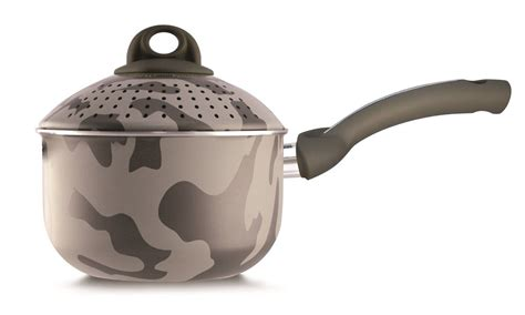 pensofal army bioceramix  stick baby pastasi pasta cooker  lid   quart gift