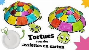 Fabriquer Un Personnage En Carton : tuto diy fabriquer une tortue avec une assiette en ~ Zukunftsfamilie.com Idées de Décoration