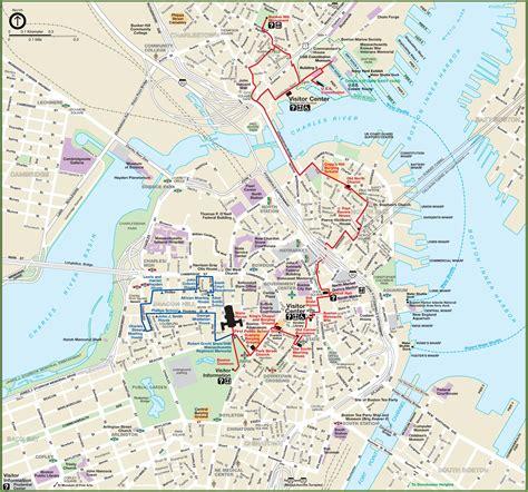 boston city center map