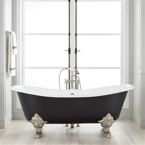 Shower For Clawfoot Tub by 72 Quot Lena Cast Iron Clawfoot Tub Monarch Imperial