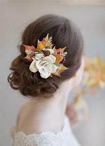 Autumn Wedding Rustic Bridal Hairpiece 2228740 Weddbook