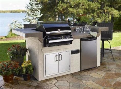 Outdoor Kitchen Islands 4 Door Convertible Cars Floor Mounted Lock French Refrigerator White Replacing Doors United Garage New Cabinet Cost How To Make A Doggy Impact