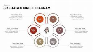 Six Staged Circle Diagram Keynote And Powerpoint Template
