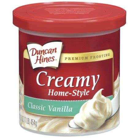 Duncan Hines Classic Vanilla Creamy Homestyle Frosting 16