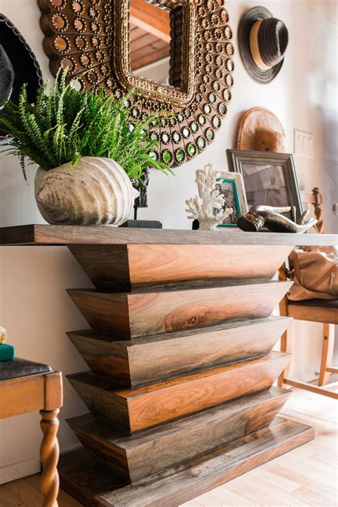clean  wood kitchen table hgtv pictures ideas hgtv