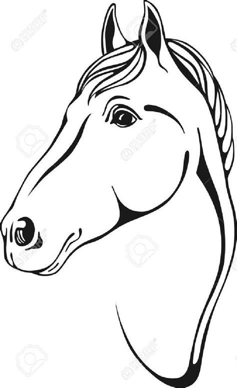 pferdekopf vorlage kinderbilderdownload