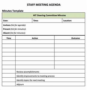 sample business meeting agenda staff meeting agenda 7 free download for pdf