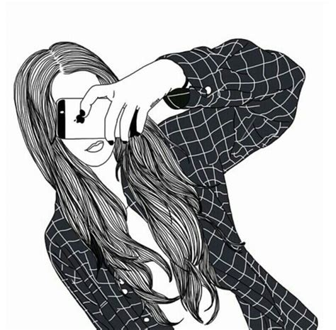 Best Black And White Girl Drawing Ideas And Images On Bing Find