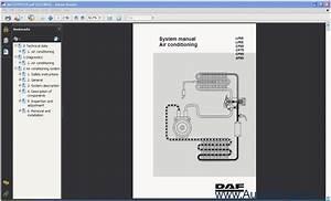 Daf Lf45  Lf55  Cf65  Cf75  Cf85  Xf95 Air Conditioning