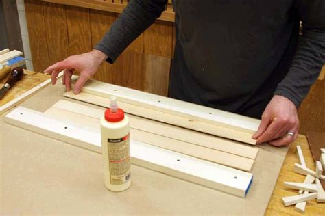 wedges  edge glue thin boards finewoodworking
