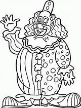 Clown Coloring Circus Printable Ausmalbilder Zum Ausdrucken Scary Killer Drawing Kleurplaten Tent Clowns Krusty Adult Rodeo Getcolorings Sheets Getdrawings Sheet sketch template