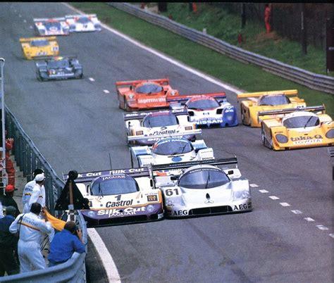 racing baldi mercedes jaguar 1989 francorchamps sauber mauro cars spa lammers cut silk late race jan da pic endurance octobre