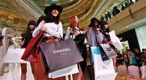 What Chinese Shoppers Are Seeking In Luxury Brands