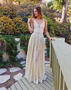 Robe Longue Style Boheme : 1001 id es robe demoiselle d 39 honneur boh me sur la ~ Dallasstarsshop.com Idées de Décoration