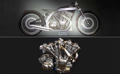 Mugen Introduces 1,400cc V-twin Motorcycle Engine