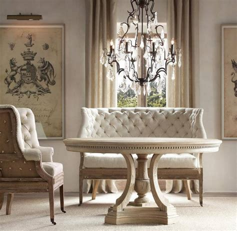 nicole miller table ls settees shrug off their prim persona and fit right into