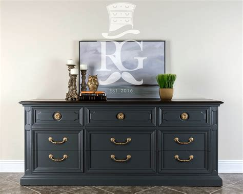 queenstown gray 9 drawer dresser general finishes design