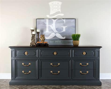 queenstown gray  drawer dresser general finishes design