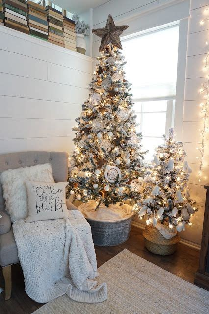 farmhouse christmas decor ideas  pinterest