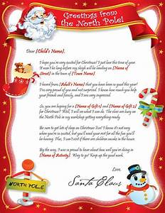 santa is proud letter template With write a letter to santa online and get a reply