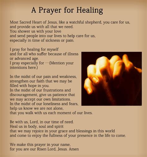 Healing Prayer Images Prayers For Healing The Sick Images Prayers