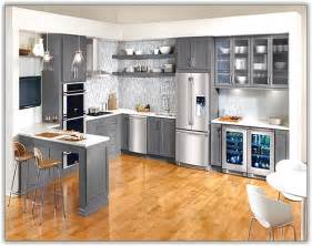 Ikea Stainless Kitchen Cabinets by Painted Black Cabinets In Kitchen Pictures Home Design Ideas