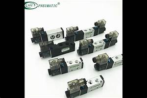 2 Position 5 Port Directional Pneumatic Valve Diagram