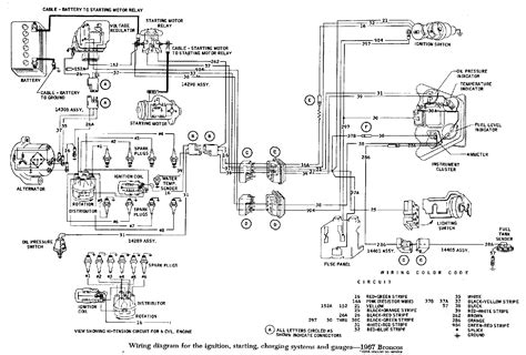 fuel injection technical library early bronco wiring